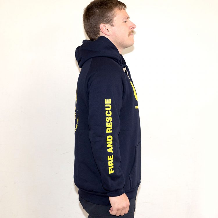 Kangaroo Pouch Hoodie with Large Logo D1