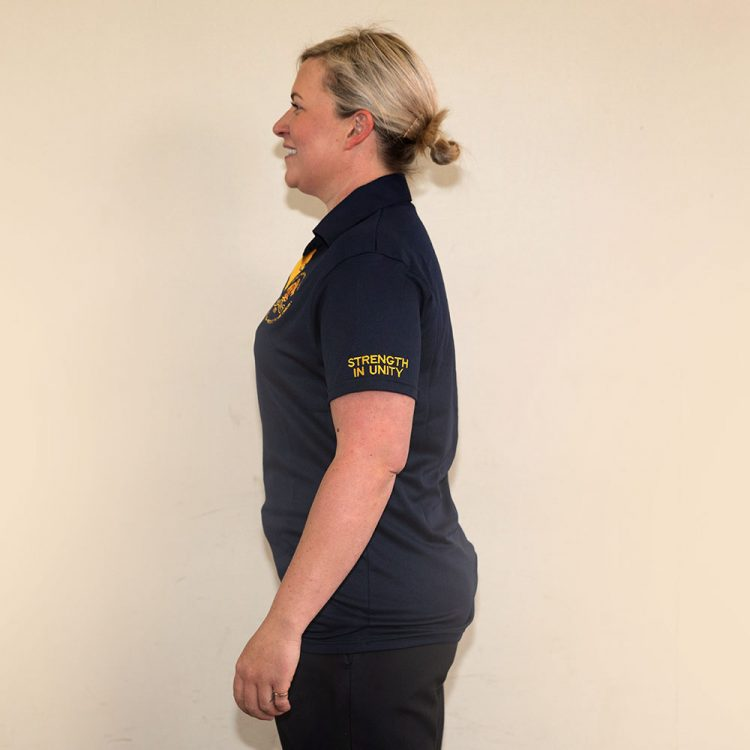 Female Fitted Polo T-Shirt D4